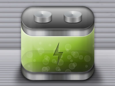 iPhone Battery App Icons