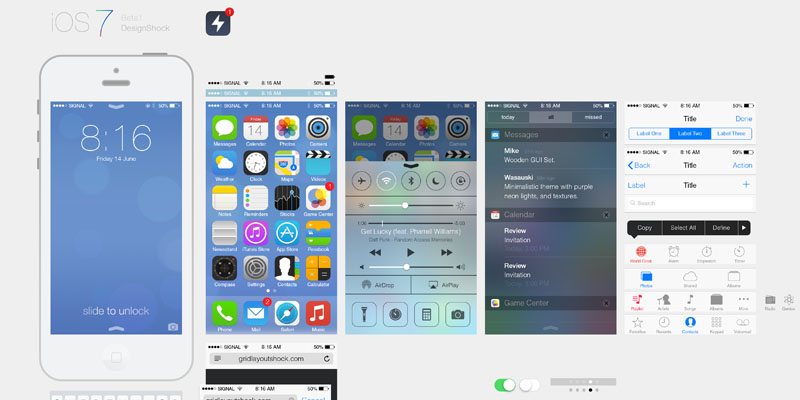 iPhone iOS 7 Free Download