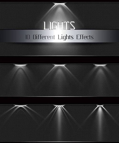Light Effects PSD Template