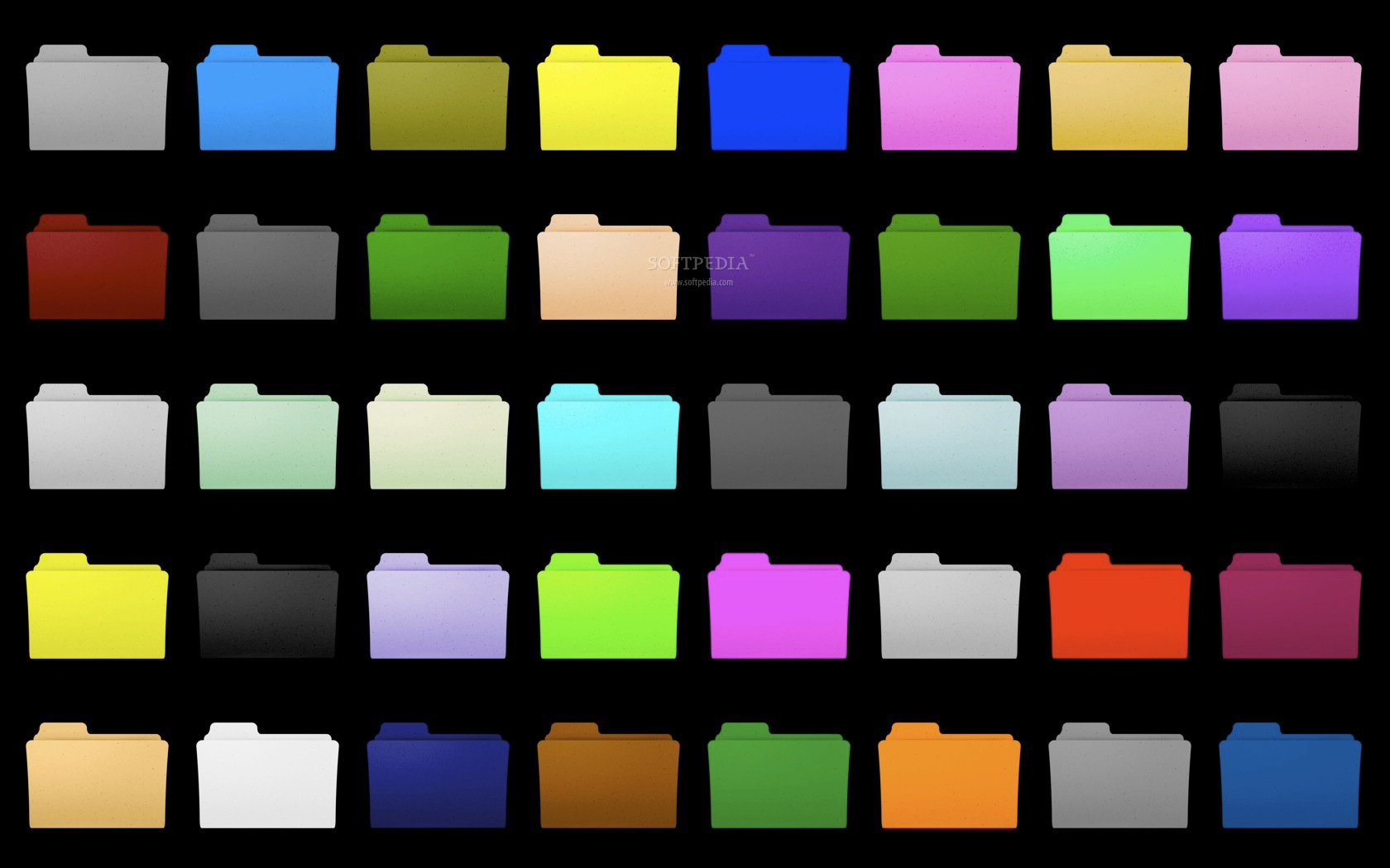 14 Mac Colored Folder Icons Images Color Folder Icons