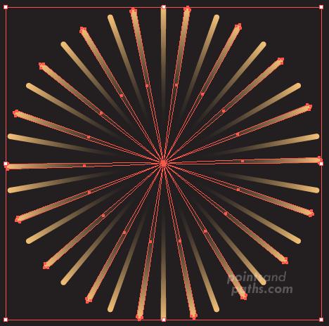 how to draw realistic fireworks