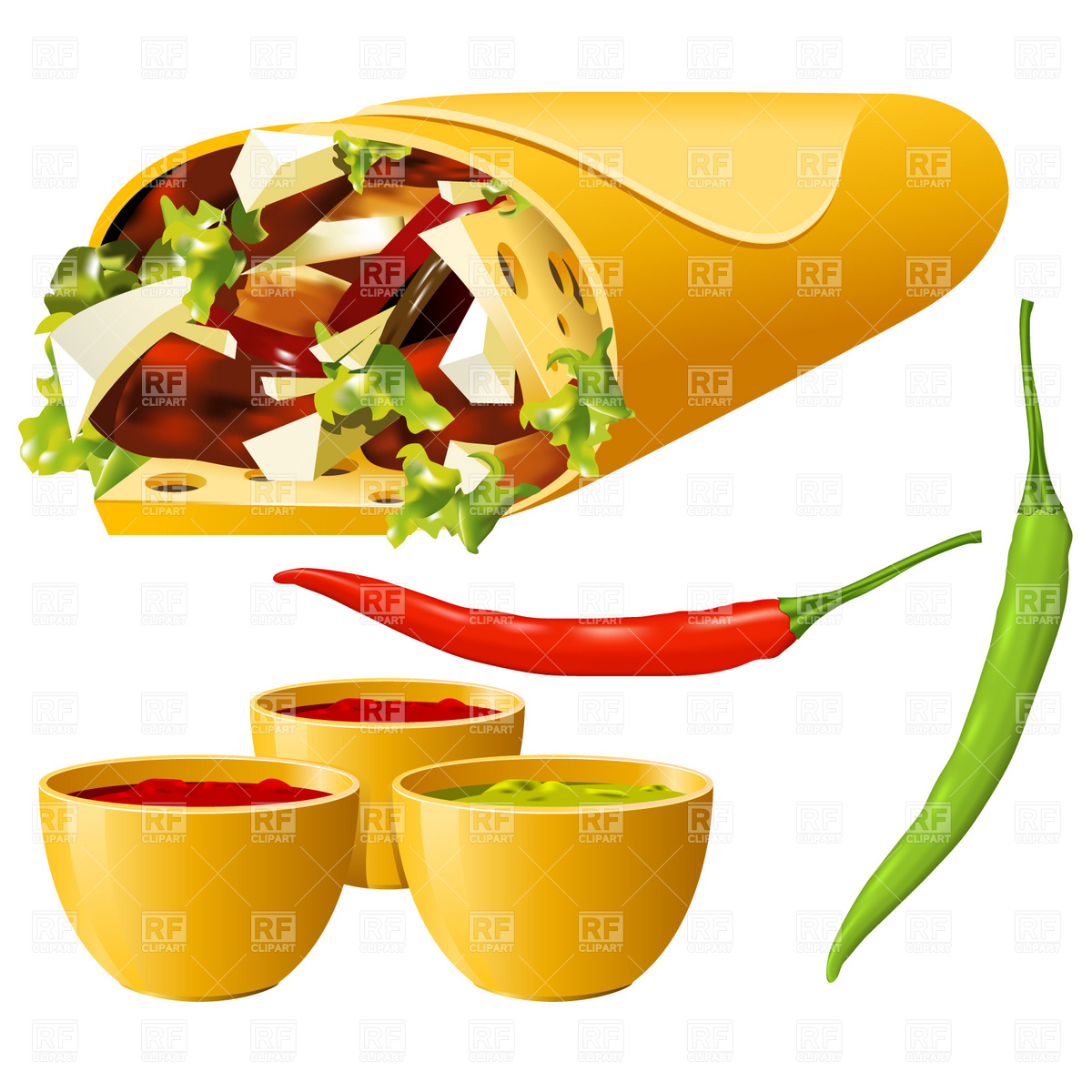 Mexican Food Clip Art Free