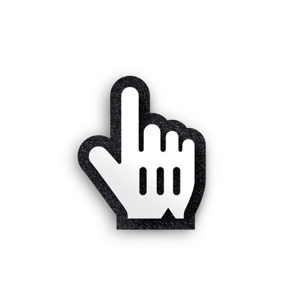 Middle Finger Mouse Pointer Icons