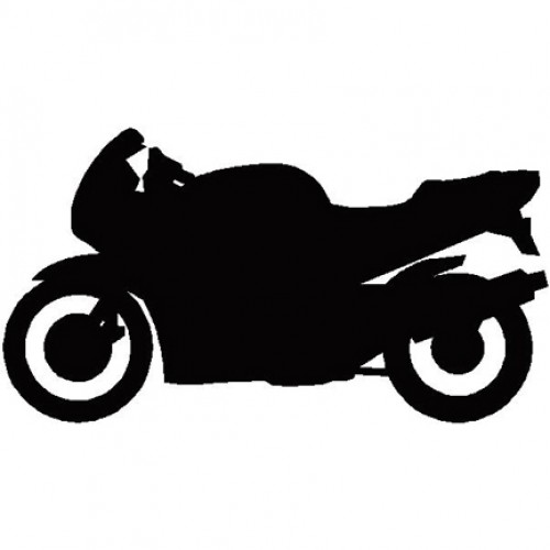 8 Motorcycle Silhouette Vector Images - Bike Silhouette ...