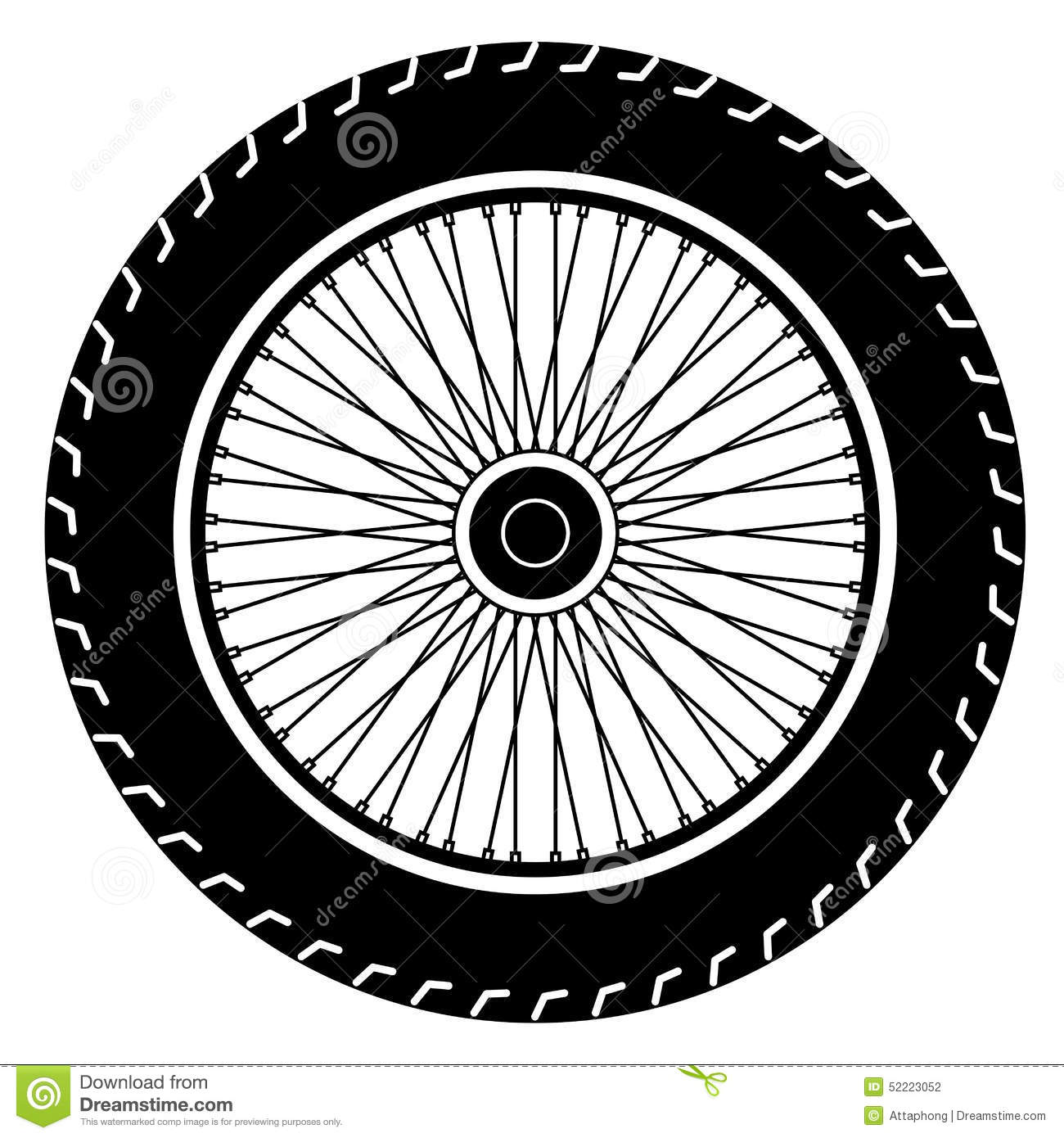 11 motorcycle wheel vector images bicycle wheel vector for Bike tire art