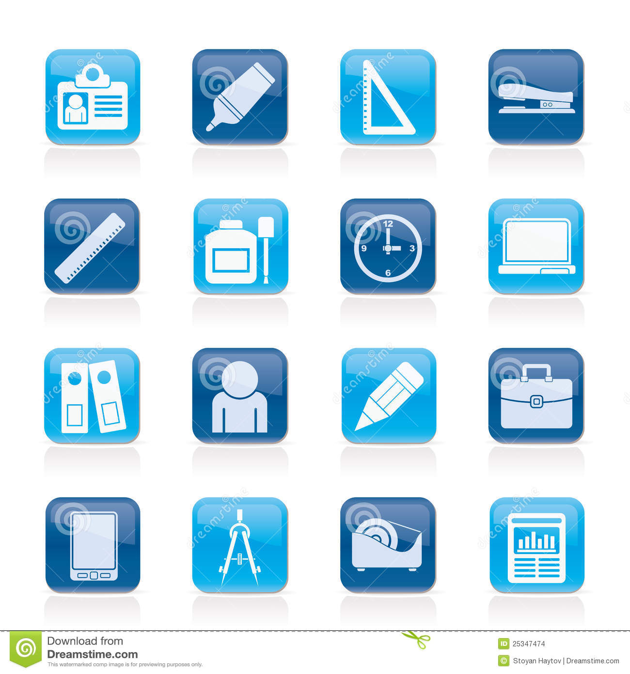 Office and Business Objects Icons