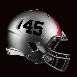 Ohio State Pro Combat Helmet