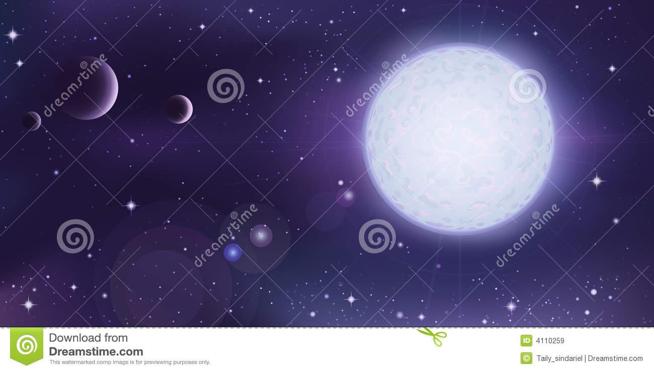 Outer Space Planet Landscape