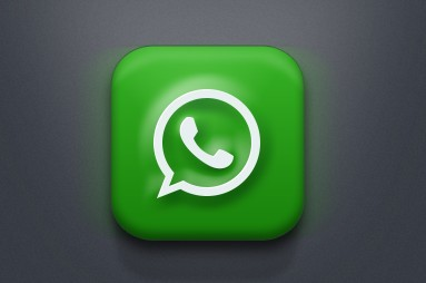 Phone App with Green and White Background