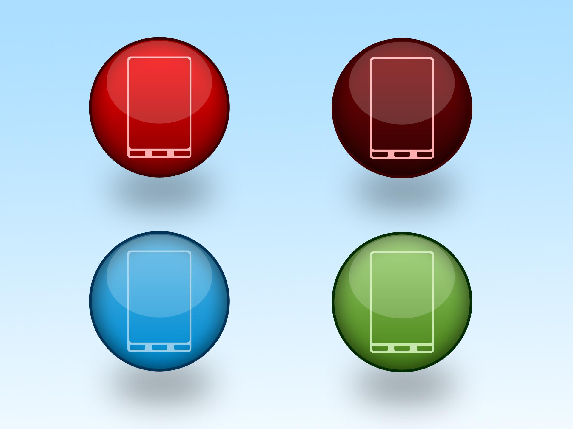 Phone Icon PSD