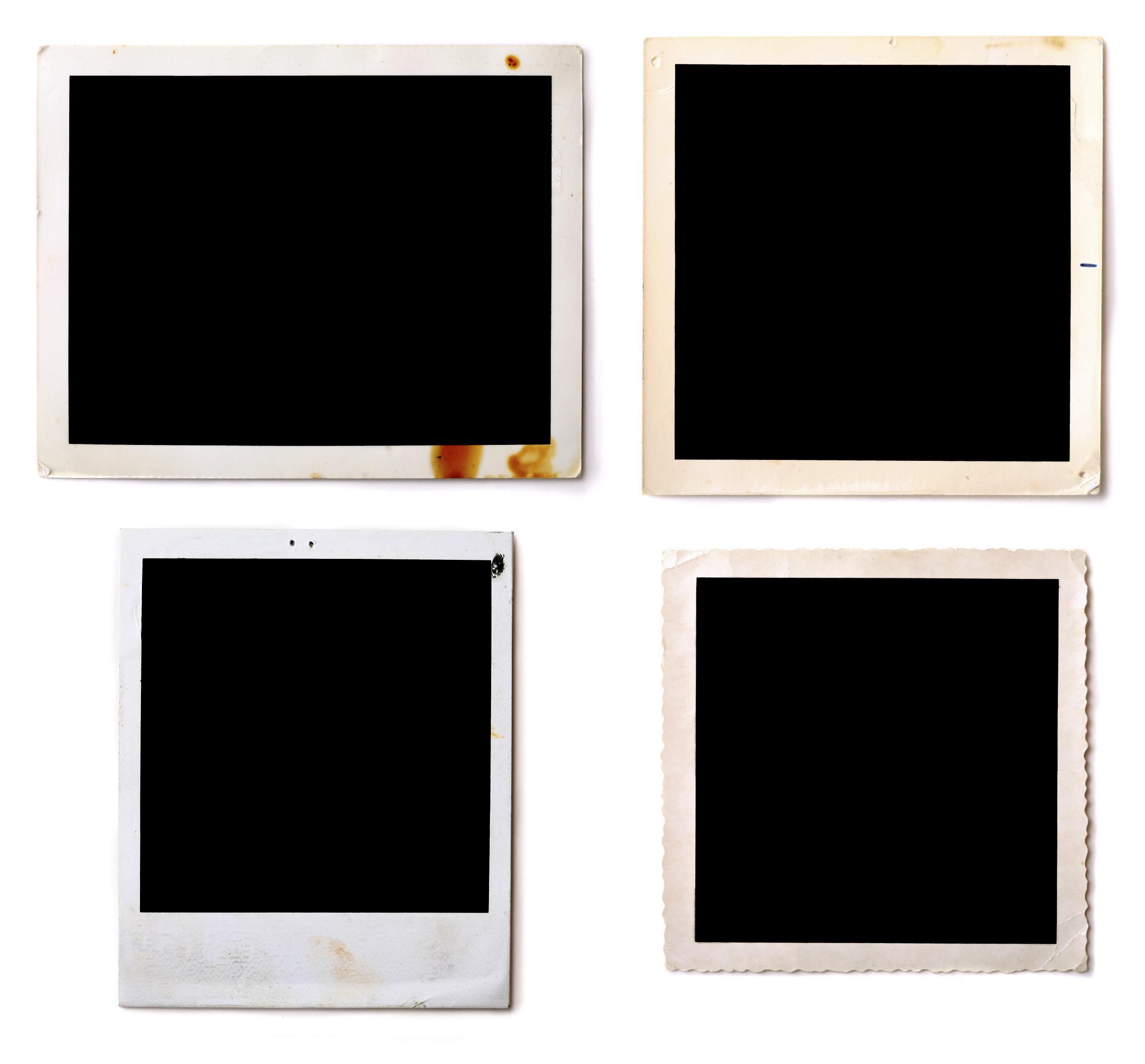 15 PSD Polaroid Template Photoshop Images - Free Polaroid Template ...