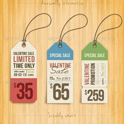 7 Price Tags PSD Templates Images