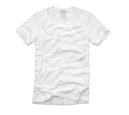 Real Blank T-Shirt Template