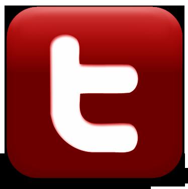 Red Twitter Logo
