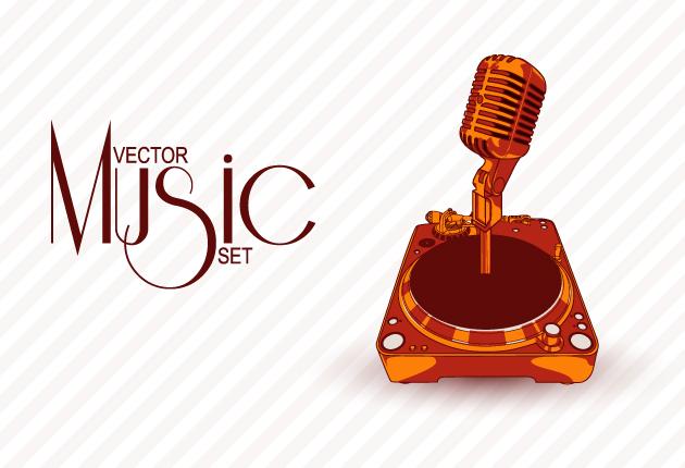 Retro Music Vectors