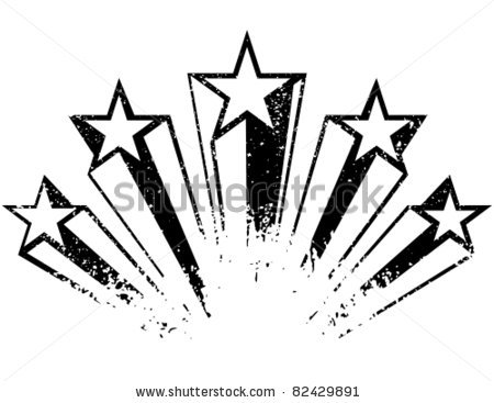 18 Shooting Star Vector Free Images