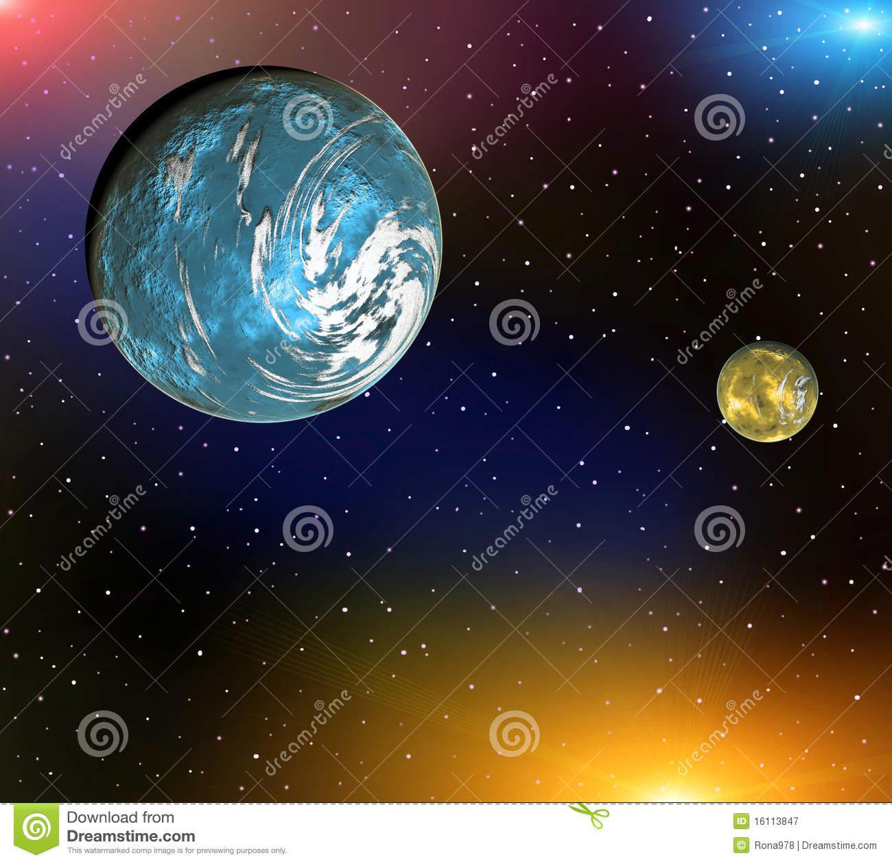Space Landscape Photography