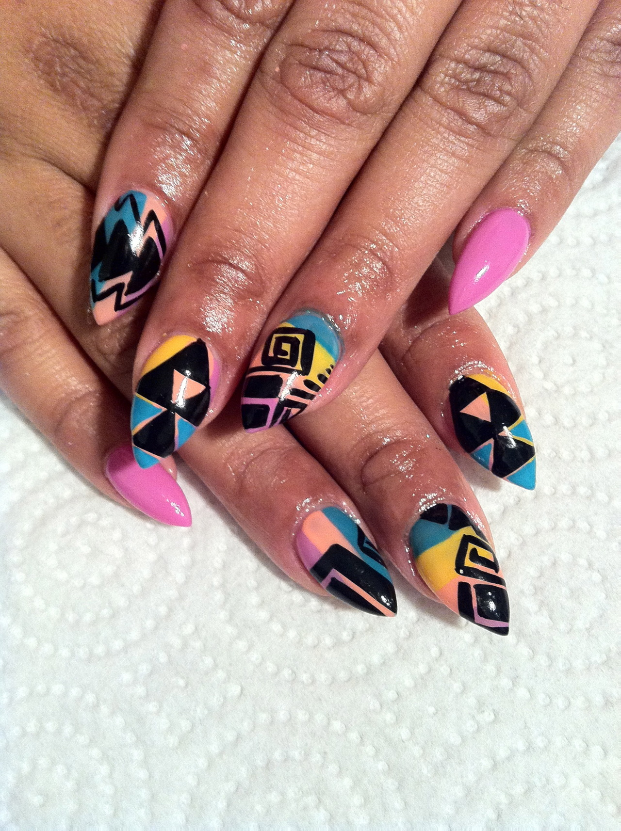 Stiletto Nail Design Tumblr