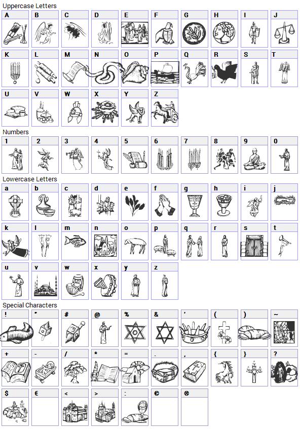 14 Cross Symbol Font Images Religious Symbol Font Religious