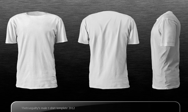 19 T-Shirt Mockup Templates Images