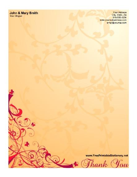 12 Elegant Letter Border Designs Images