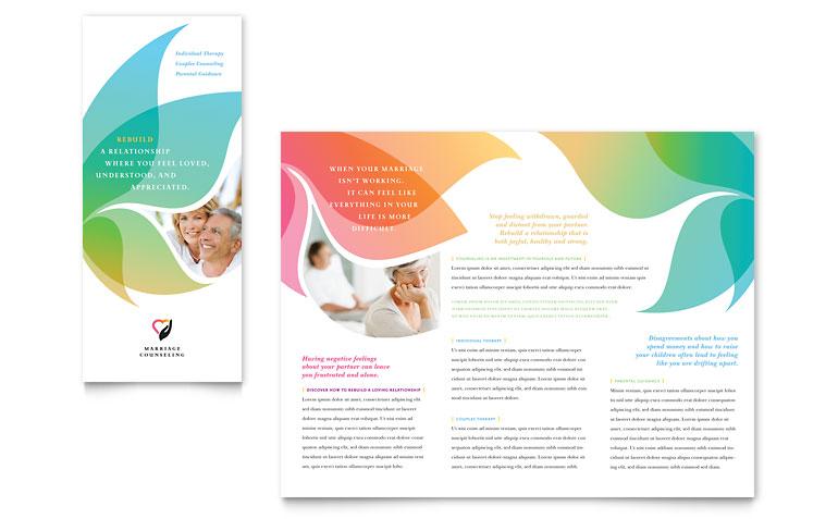 Tri-Fold Brochure Template Word