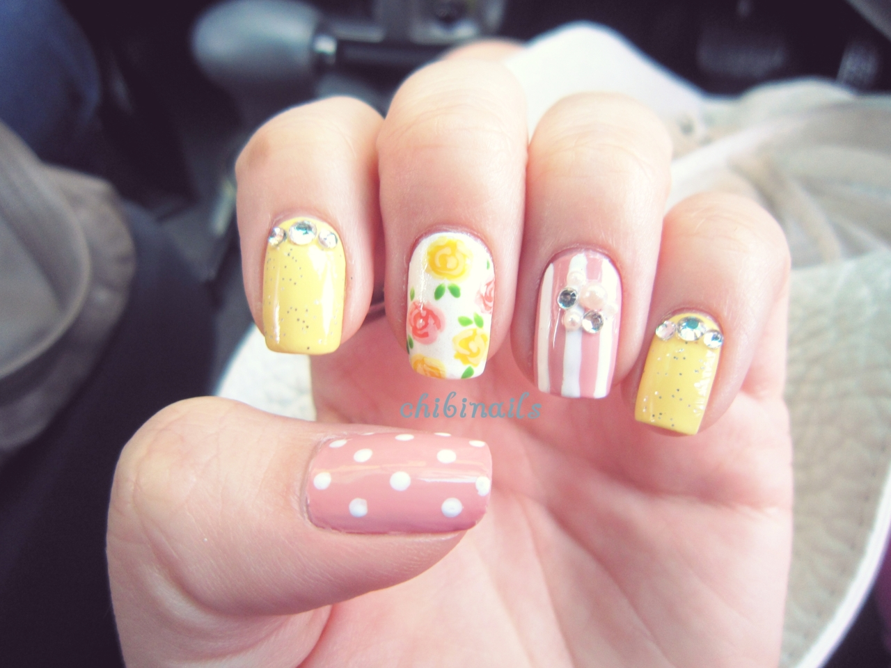 Tumblr Girly Nail Art