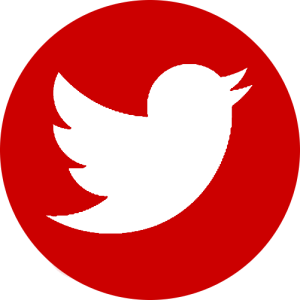 8 Red Twitter Icon Images