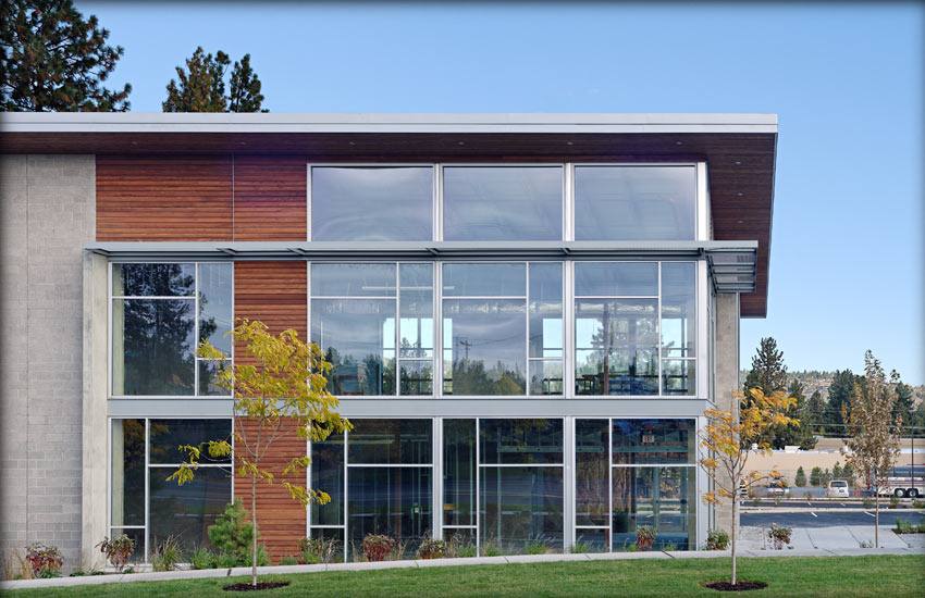 Two Story Office Building Design