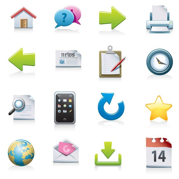 15 Free Web Icon Set Images