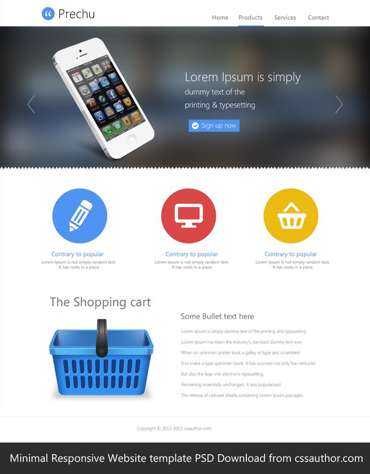 Website Design Templates Free Download