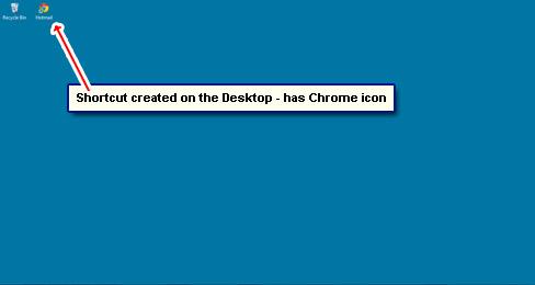 Windows 7 Desktop Shortcut Icons