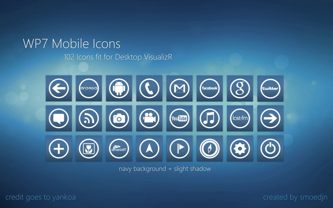 16 Mobile Icon Pack Windows 7 Images