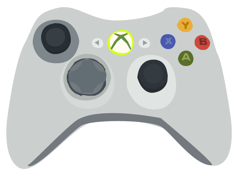 12 Xbox Controller Vector Images