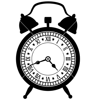 10 Old Alarm Clock Vector Images