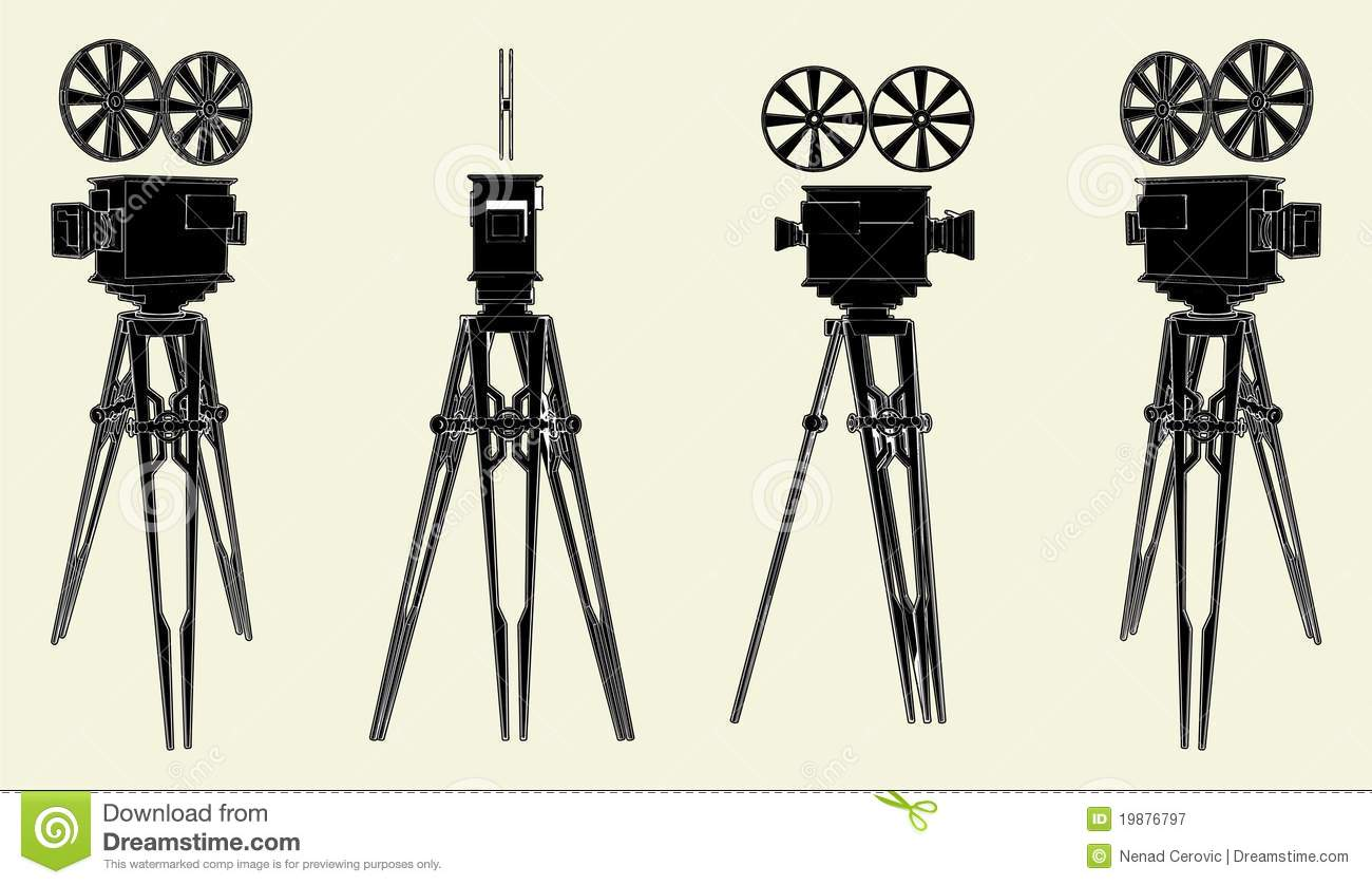 Antique Camera Stand