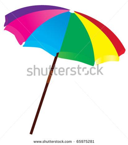 10 Beach Umbrella Vector Images