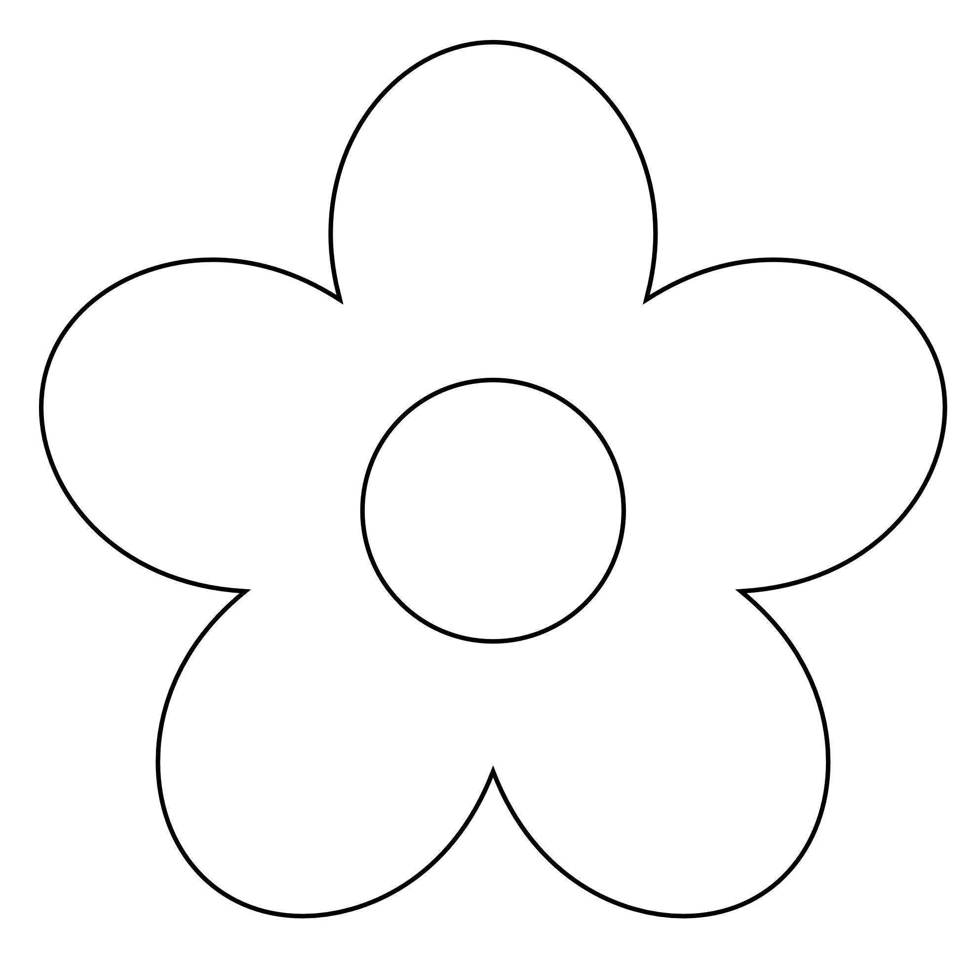 12 Graphic Black And White Spring Flower Images