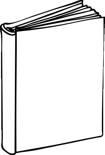 Blank Book Cover Clip Art