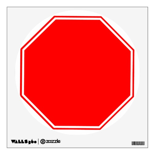 Blank Stop Sign Template. free printable sign templates blank sign ...