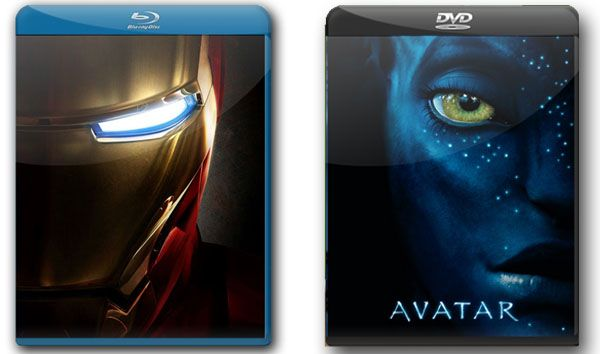 Blu-ray DVD Template Photoshop