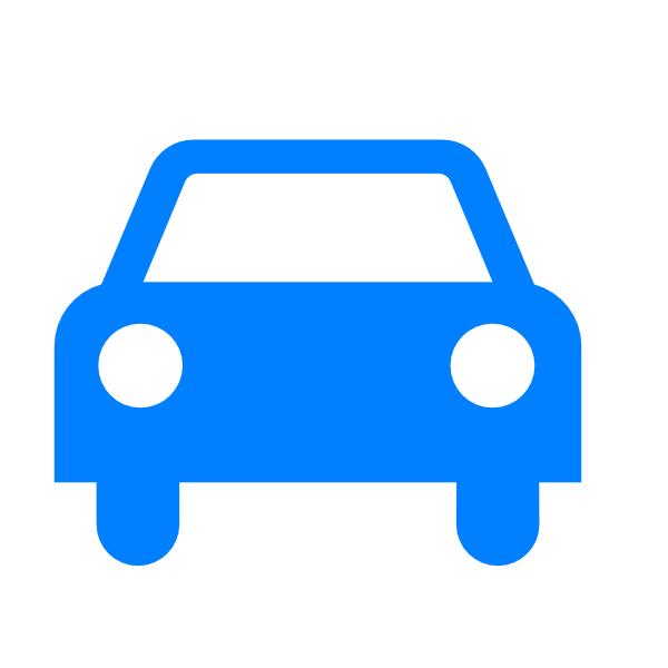 16 Blue Car Icon Clip Art Images