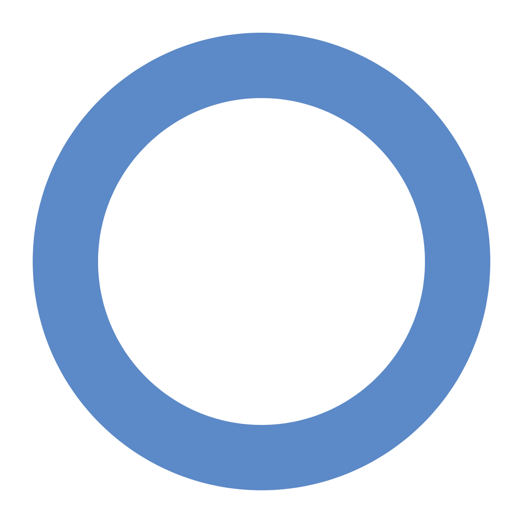 6 Blue Circle Icon Images - Glossy Circle Icons, Blue ...