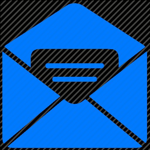 16 Blue Letter Icon Images
