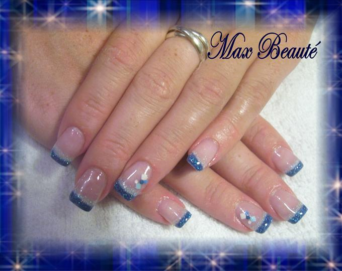 French Manicure White Tip Designs – Papillon Day Spa