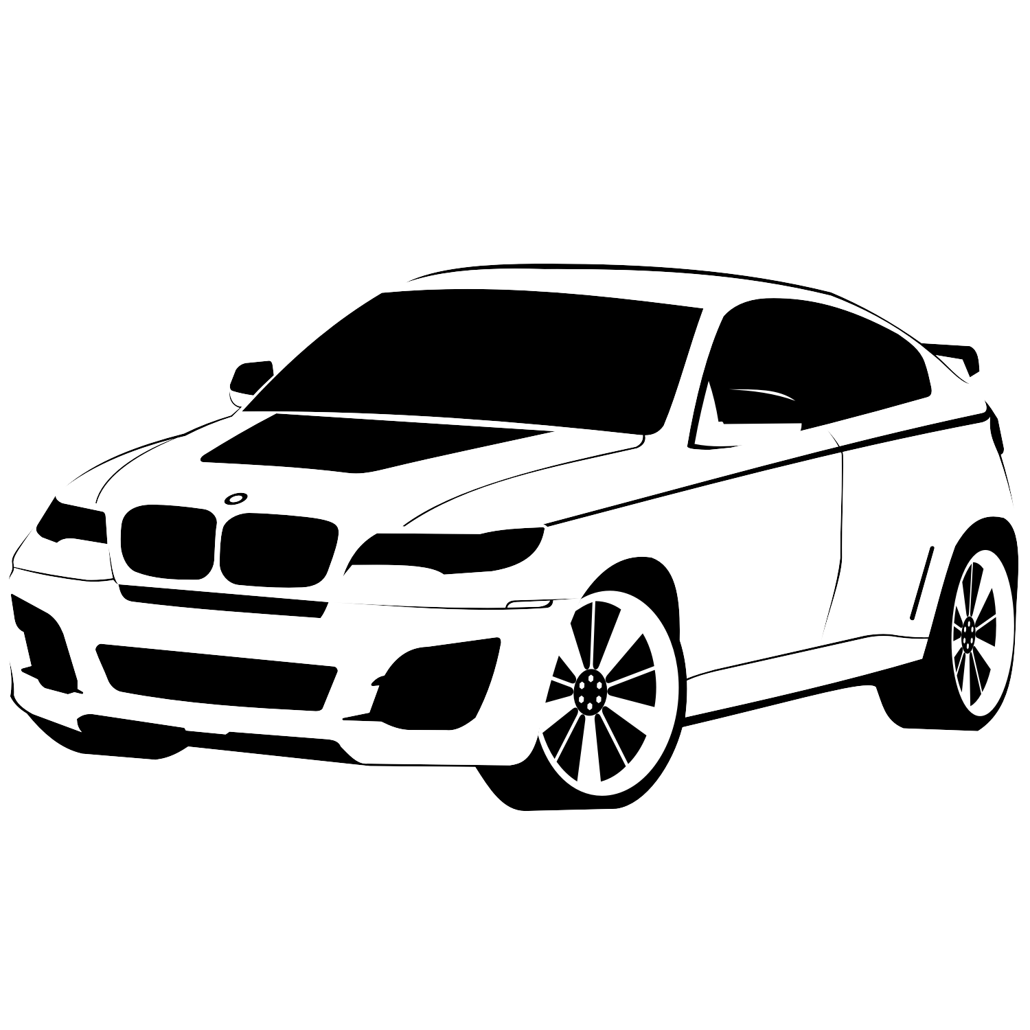 17 Bmw Logo Vector Black White Images Bmw Logo Black