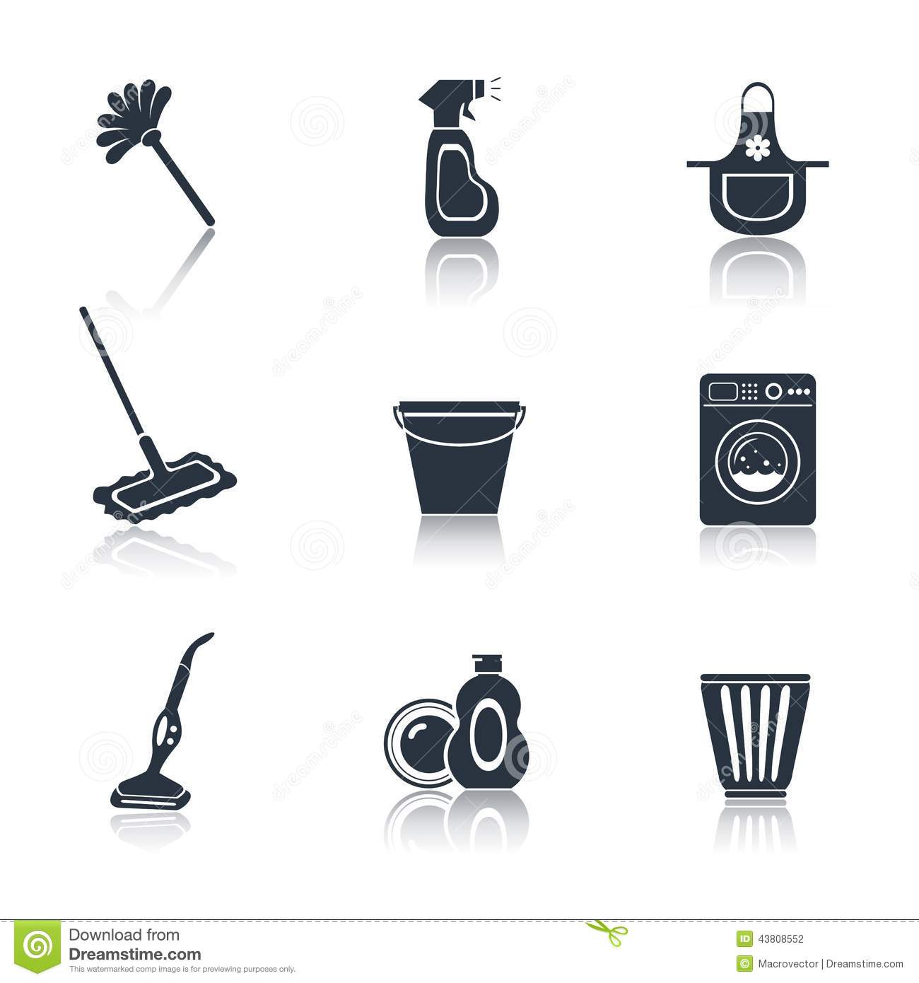14 Cleaner Icon Black Images