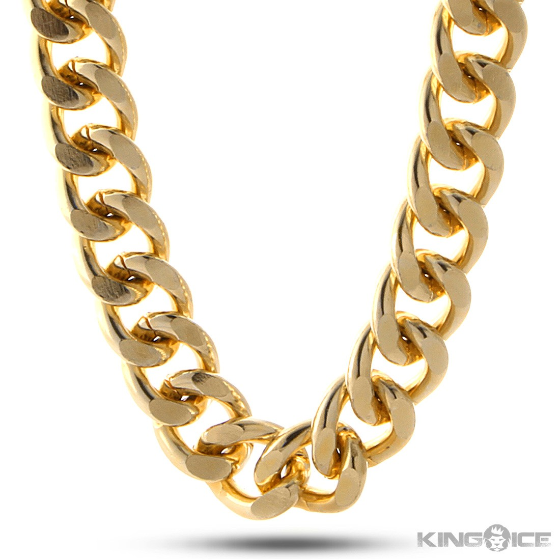 Rapper gold chain png