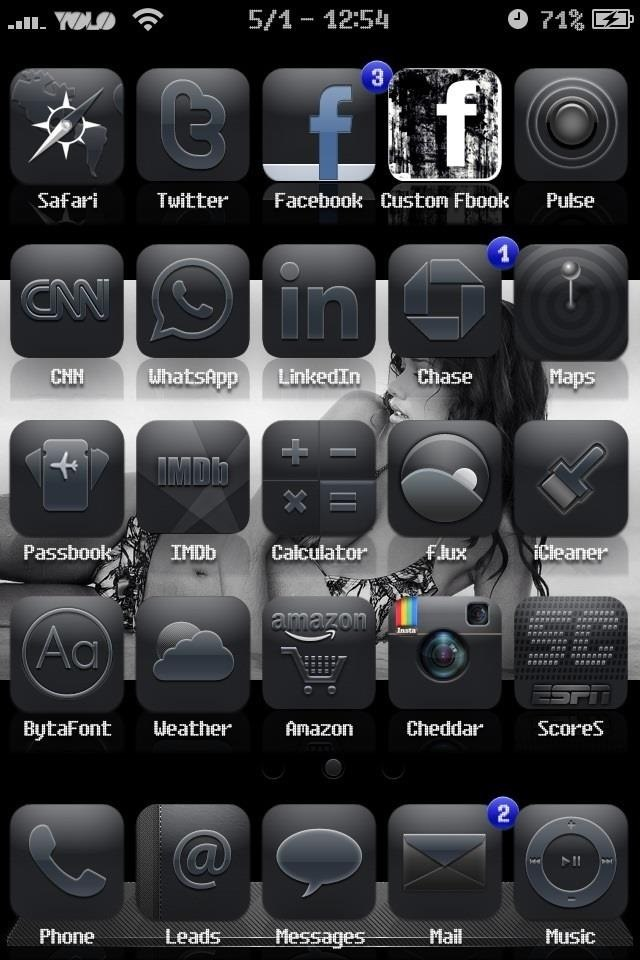 Customize iPhone Icons