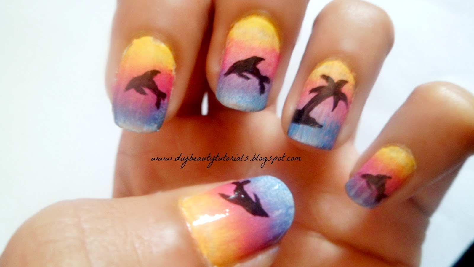 15 cute nail designs for summer images cute summer nail design cute easy summer nail designs prinsesfo Images